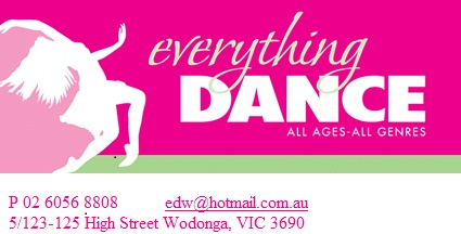 Everything Dance - Wodgonga